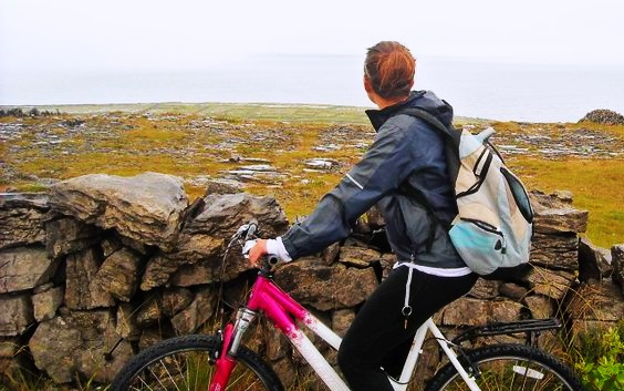Bike Ride, Inis Mor, Ireland
