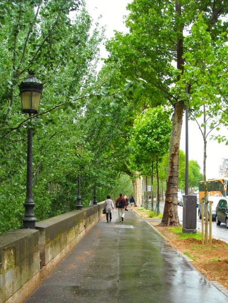 Seine River Walk, Paris