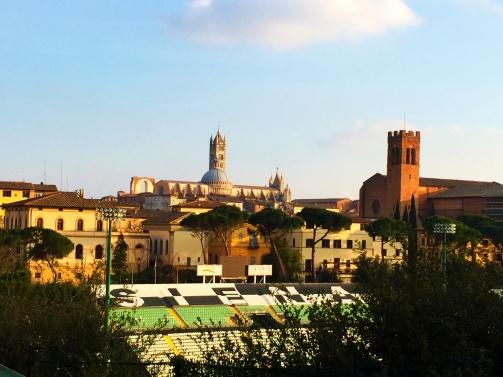 Siena, Italy from Forteza Medicea