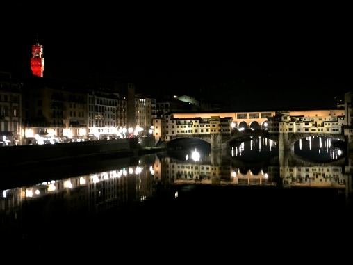 Ponte Vecchio at night, Florence