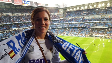 Real Madrid Game, Madrid, Spain