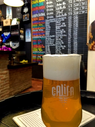 Craft beer in Cordoba, Spain