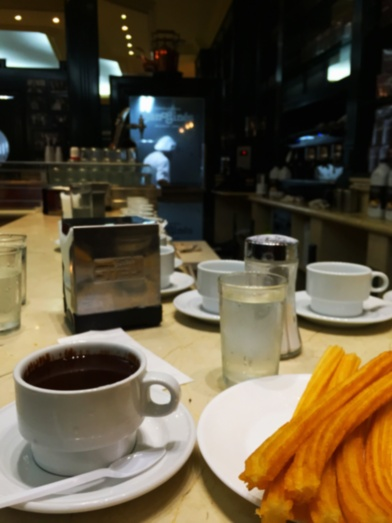 Churros and Chocolate, Madrid