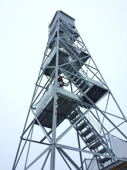 Hunter Mountain Fire Tower, Catskills