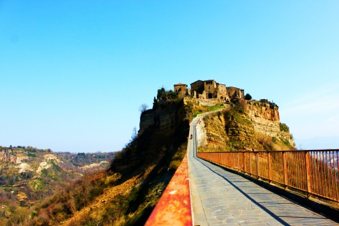 Civita di Bagnoregio bridge, Italy
