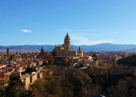 Segovia, Spain views