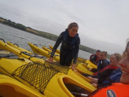 Sea Kayaking, Ireland